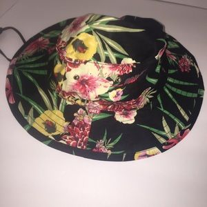 f262b7cb53b Obey Accessories - Obey Boonts Floral Fisherman Hat